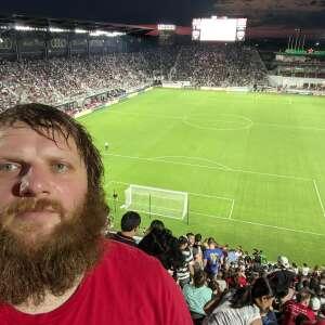 John T attended DC United vs. Inter Miami CF - MLS on Jun 19th 2021 via VetTix