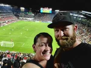 Lisa  attended DC United vs. Inter Miami CF - MLS on Jun 19th 2021 via VetTix
