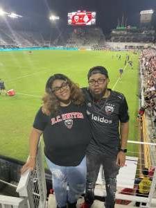 JB attended DC United vs. Inter Miami CF - MLS on Jun 19th 2021 via VetTix