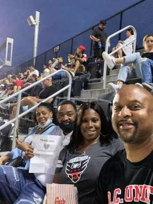 Jerome attended DC United vs. Inter Miami CF - MLS on Jun 19th 2021 via VetTix