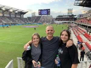 Pat attended DC United vs. Inter Miami CF - MLS on Jun 19th 2021 via VetTix