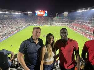 SemperFi attended DC United vs. Inter Miami CF - MLS on Jun 19th 2021 via VetTix