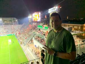 Rod attended DC United vs. Inter Miami CF - MLS on Jun 19th 2021 via VetTix