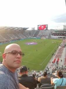 Victor attended DC United vs. Inter Miami CF - MLS on Jun 19th 2021 via VetTix