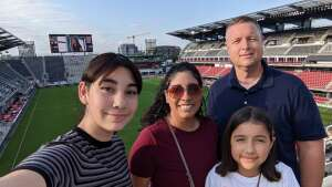 Happy Fam attended DC United vs. Inter Miami CF - MLS on Jun 19th 2021 via VetTix
