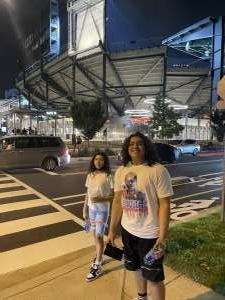 Angel attended DC United vs. Inter Miami CF - MLS on Jun 19th 2021 via VetTix