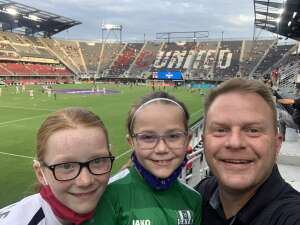 Gluber attended DC United vs. Inter Miami CF - MLS on Jun 19th 2021 via VetTix