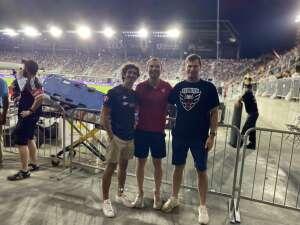 Beth attended DC United vs. Inter Miami CF - MLS on Jun 19th 2021 via VetTix