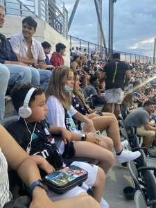 ismael attended DC United vs. Inter Miami CF - MLS on Jun 19th 2021 via VetTix