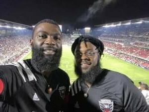 Devlin attended DC United vs. Inter Miami CF - MLS on Jun 19th 2021 via VetTix