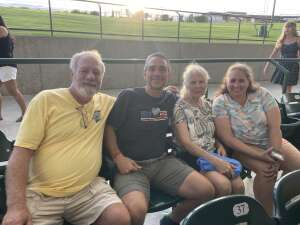 Erik Hayes attended An Evening With Chicago and Their Greatest Hits on Jun 27th 2021 via VetTix