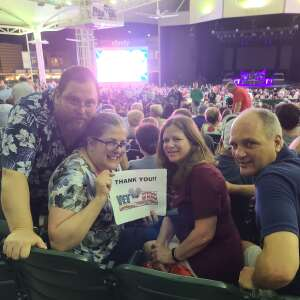 Tony attended An Evening With Chicago and Their Greatest Hits on Jun 27th 2021 via VetTix