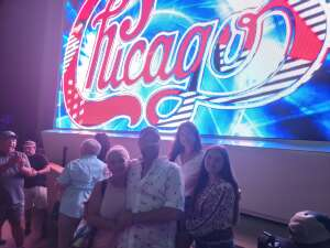 Allen attended An Evening With Chicago and Their Greatest Hits on Jun 27th 2021 via VetTix