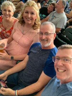 RB Trimmer attended An Evening With Chicago and Their Greatest Hits on Jun 27th 2021 via VetTix