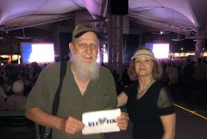 Curt & Tammy attended An Evening With Chicago and Their Greatest Hits on Jun 27th 2021 via VetTix