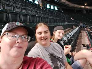 Jessica  attended Arizona Diamondbacks vs. San Diego Padres - MLB on Aug 14th 2021 via VetTix