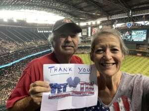 Arizona dbacks attended Arizona Diamondbacks vs. San Diego Padres - MLB on Aug 14th 2021 via VetTix