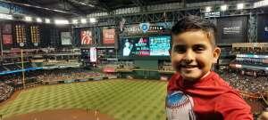 Sgt Cynthia Hernandez attended Arizona Diamondbacks vs. San Diego Padres - MLB on Aug 14th 2021 via VetTix