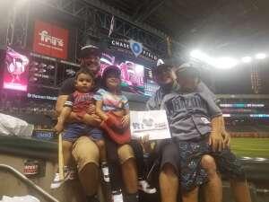 Steve  attended Arizona Diamondbacks vs. San Diego Padres - MLB on Aug 14th 2021 via VetTix