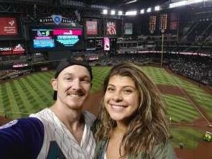 Mike attended Arizona Diamondbacks vs. San Diego Padres - MLB on Aug 14th 2021 via VetTix