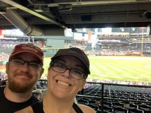 Wiseout attended Arizona Diamondbacks vs. San Diego Padres - MLB on Aug 14th 2021 via VetTix