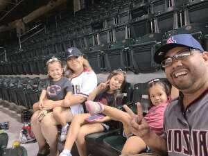 Alvy attended Arizona Diamondbacks vs. San Diego Padres - MLB on Aug 14th 2021 via VetTix