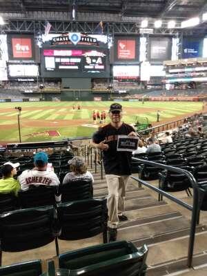 William attended Arizona Diamondbacks vs. San Diego Padres - MLB on Aug 14th 2021 via VetTix
