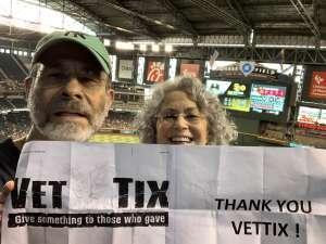 Mark attended Arizona Diamondbacks vs. San Diego Padres - MLB on Aug 14th 2021 via VetTix