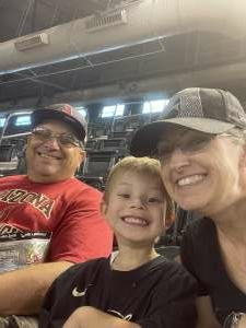 Martin  attended Arizona Diamondbacks vs. San Diego Padres - MLB on Aug 14th 2021 via VetTix