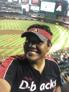Yo yo attended Arizona Diamondbacks vs. San Diego Padres - MLB on Aug 14th 2021 via VetTix
