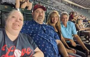 William DeMay attended Arizona Diamondbacks vs. San Diego Padres - MLB on Aug 14th 2021 via VetTix