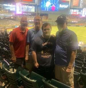 Robert  attended Arizona Diamondbacks vs. San Diego Padres - MLB on Aug 30th 2021 via VetTix