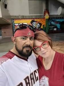 Reza attended Arizona Diamondbacks vs. San Diego Padres - MLB on Aug 30th 2021 via VetTix