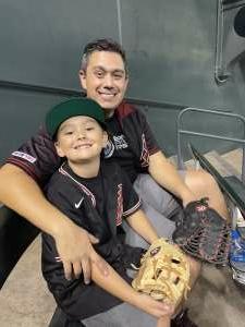 Kris attended Arizona Diamondbacks vs. San Diego Padres - MLB on Aug 30th 2021 via VetTix