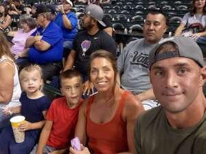 Jose attended Arizona Diamondbacks vs. San Diego Padres - MLB on Aug 30th 2021 via VetTix