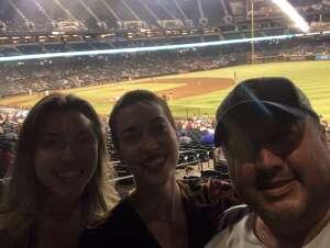 Jerry attended Arizona Diamondbacks vs. San Diego Padres - MLB on Aug 30th 2021 via VetTix