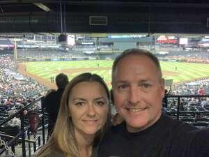 Jason De Luigi attended Arizona Diamondbacks vs. San Diego Padres - MLB on Aug 30th 2021 via VetTix