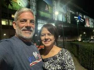 Stephen C attended Arizona Diamondbacks vs. San Diego Padres - MLB on Aug 30th 2021 via VetTix