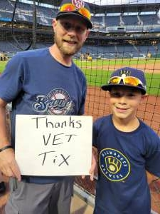 Mike attended Pittsburgh Pirates vs. Milwaukee Brewers - MLB on Jul 3rd 2021 via VetTix