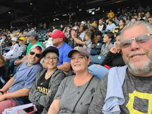 Getting back to normal  attended Pittsburgh Pirates vs. Milwaukee Brewers - MLB on Jul 4th 2021 via VetTix