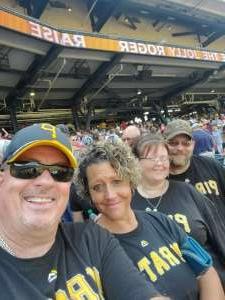 Don Di Costanzo attended Pittsburgh Pirates vs. Milwaukee Brewers - MLB on Jul 4th 2021 via VetTix