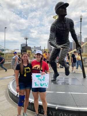 Shannon attended Pittsburgh Pirates vs. Milwaukee Brewers - MLB on Jul 4th 2021 via VetTix