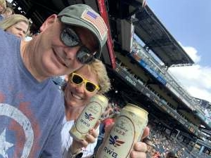 Bob Savage attended Pittsburgh Pirates vs. Milwaukee Brewers - MLB on Jul 4th 2021 via VetTix