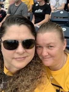 Yalonda  attended Pittsburgh Pirates vs. Milwaukee Brewers - MLB on Jul 4th 2021 via VetTix