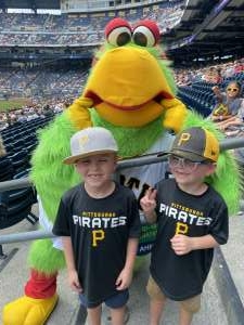 Kyle Althoff attended Pittsburgh Pirates vs. Milwaukee Brewers - MLB on Jul 4th 2021 via VetTix