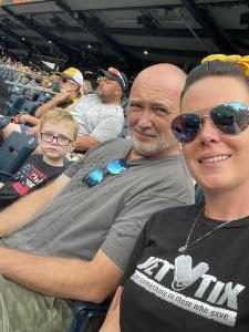 Dana Lucas attended Pittsburgh Pirates vs. Milwaukee Brewers - MLB on Jul 4th 2021 via VetTix