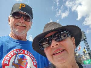 Edward Sobala attended Pittsburgh Pirates vs. Milwaukee Brewers - MLB on Jul 4th 2021 via VetTix