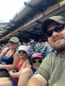 Scott  attended Pittsburgh Pirates vs. Milwaukee Brewers - MLB on Jul 4th 2021 via VetTix