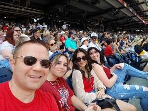 Sam attended Pittsburgh Pirates vs. Milwaukee Brewers - MLB on Jul 4th 2021 via VetTix