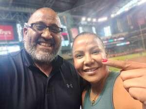 RO attended Arizona Diamondbacks vs. San Diego Padres - MLB on Sep 1st 2021 via VetTix